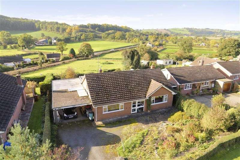 3 Bedrooms Bungalow for sale in Porth Y Waen, Oswestry, SY10