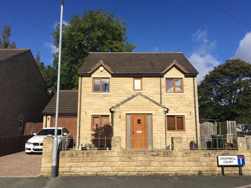 4 Bedrooms Detached House for sale in Cromwell Court, Almondbury, Huddersfield, HD5 8ZH