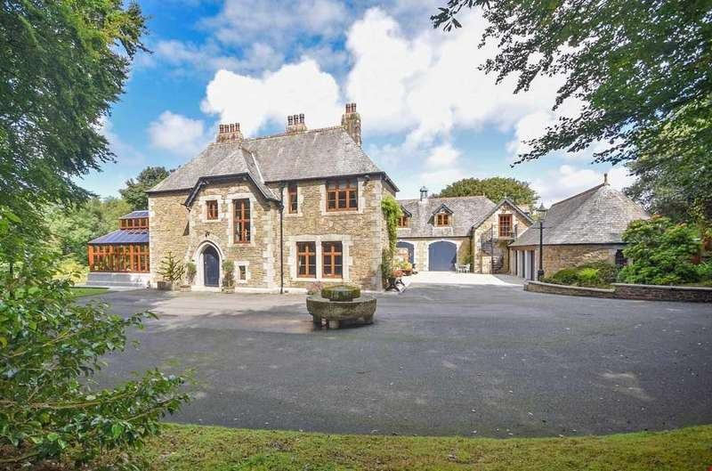 5 Bedrooms Detached House for sale in Treleigh, Redruth, Cornwall, TR16