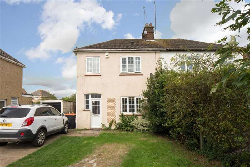 3 Bedrooms Semi Detached House for sale in Mill Road, Houghton Regis, Dunstable, Bedfordshire, LU5