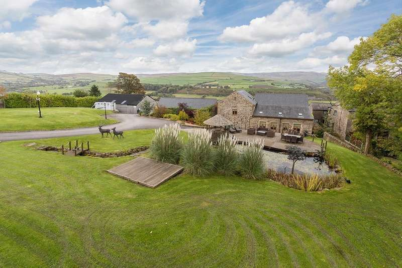 4 Bedrooms Detached House for sale in Mellor Road, New Mills, High Peak