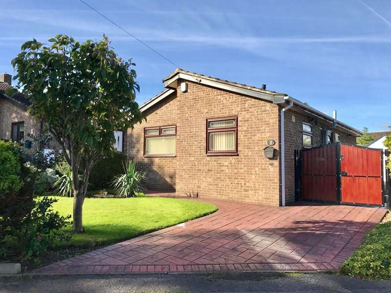 2 Bedrooms Detached Bungalow for sale in Fulmer Close, Carlton, Barnsley S71