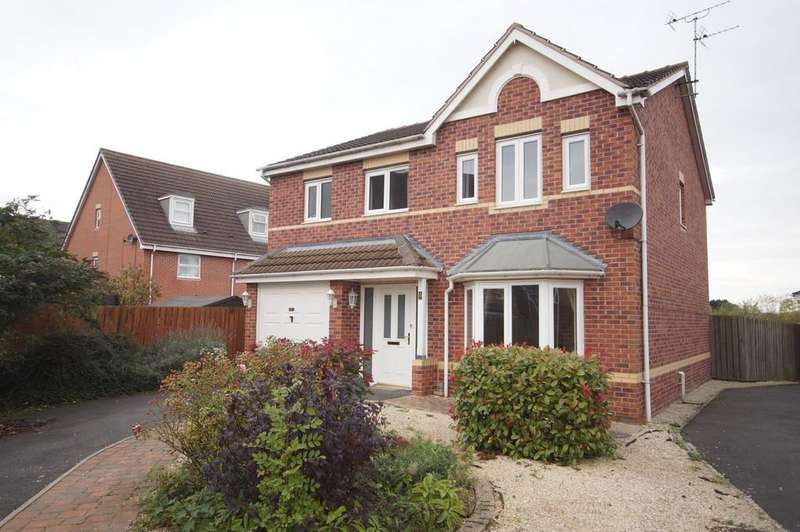 4 Bedrooms Detached House for sale in Heather Gardens, North Hykeham, Lincoln