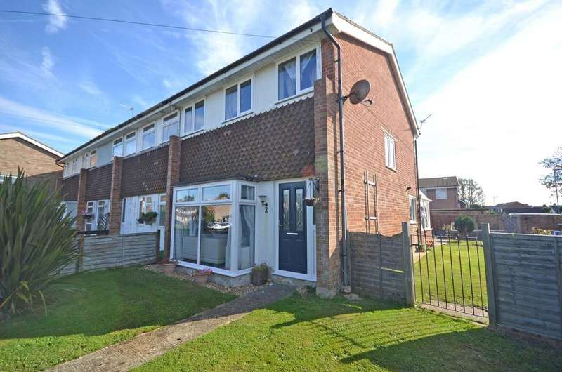 3 Bedrooms End Of Terrace House for sale in Elm Tree Close, Selsey, PO20