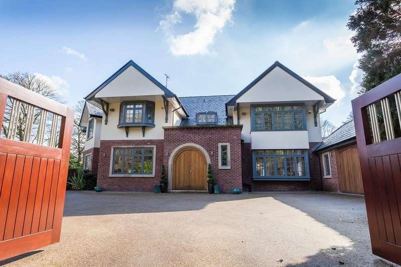 5 Bedrooms Detached House for sale in Withinlee Road, Prestbury