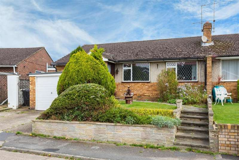 3 Bedrooms Semi Detached Bungalow for sale in Beckings Way, Flackwell Heath