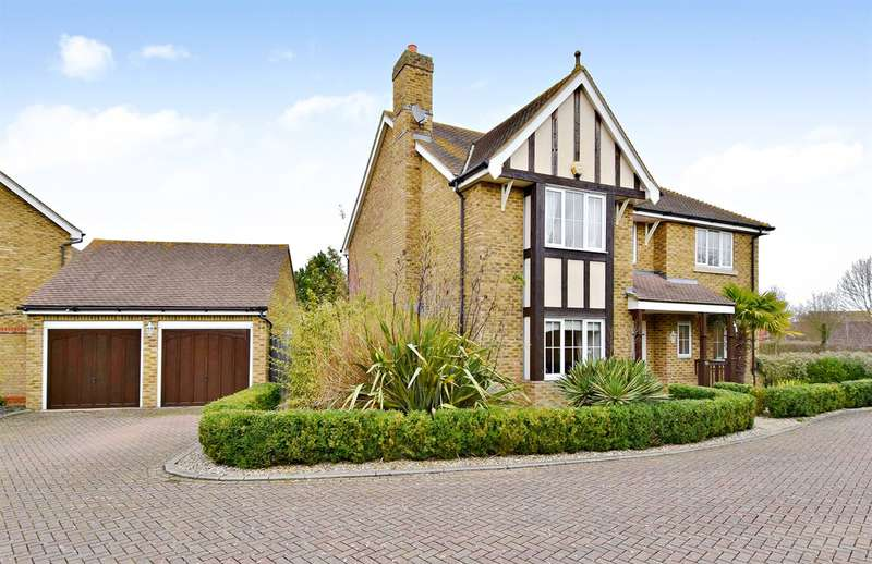 5 Bedrooms Detached House for sale in Harlequin Close, Herne Bay