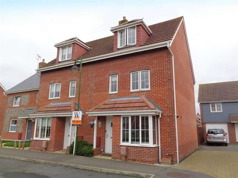 4 Bedrooms End Of Terrace House for sale in Osborne Way, Rose Green