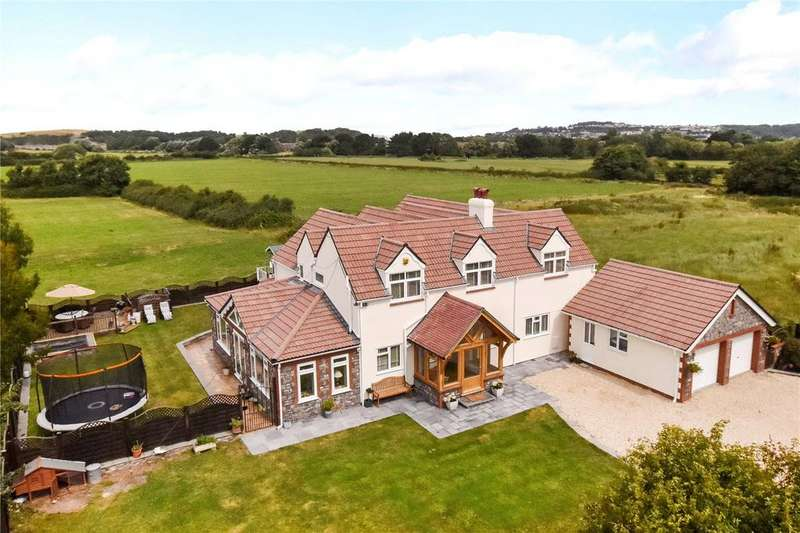 4 Bedrooms Detached House for sale in Lower Strode Road, Clevedon, Avon, BS21