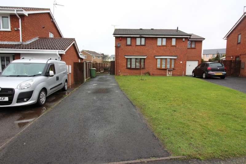 2 Bedrooms Semi Detached House for sale in Kestrel Grove, Willenhall