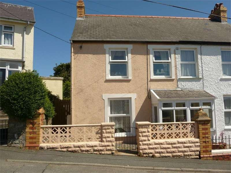 3 Bedrooms Semi Detached House for sale in 6 Prescelly Crescent, Stop and Call, Goodwick, Pembrokeshire