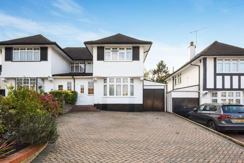 3 Bedrooms Semi Detached House for sale in Hillcroft Crescent, Off Hampermill Lane, Oxhey Hall