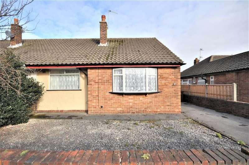 2 Bedrooms Semi Detached Bungalow for sale in Lomond Avenue, St Anne's, Lytham St Anne's, Lancashire, FY8 3LX