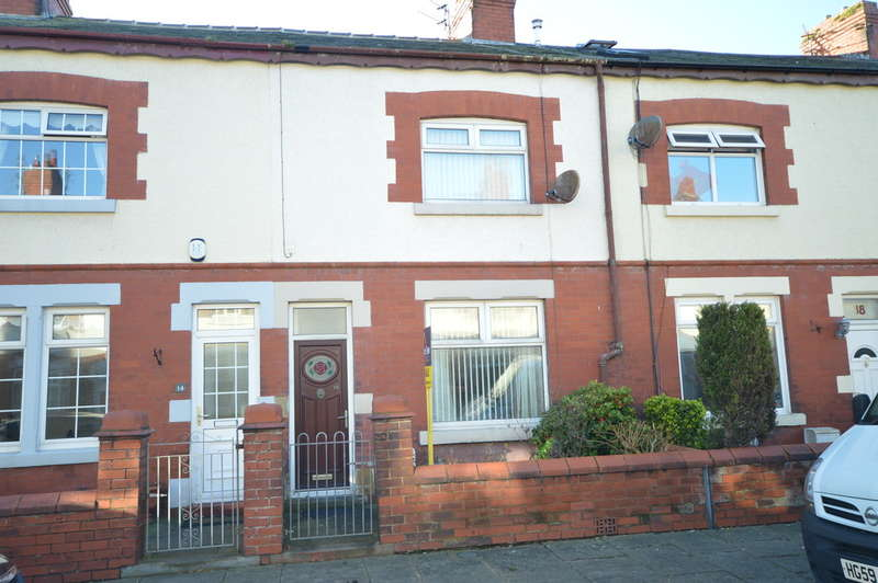2 Bedrooms Terraced House for sale in Whitley Avenue, Blackpool
