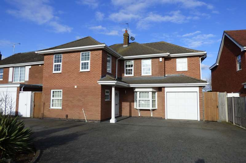 4 Bedrooms Detached House for sale in Milby Drive, St Nicolas Park, Nuneaton, CV11