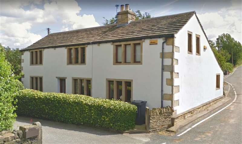 3 Bedrooms Detached House for sale in Gawthorpe Lane, Lascelles Hall, Huddersfield, HD5