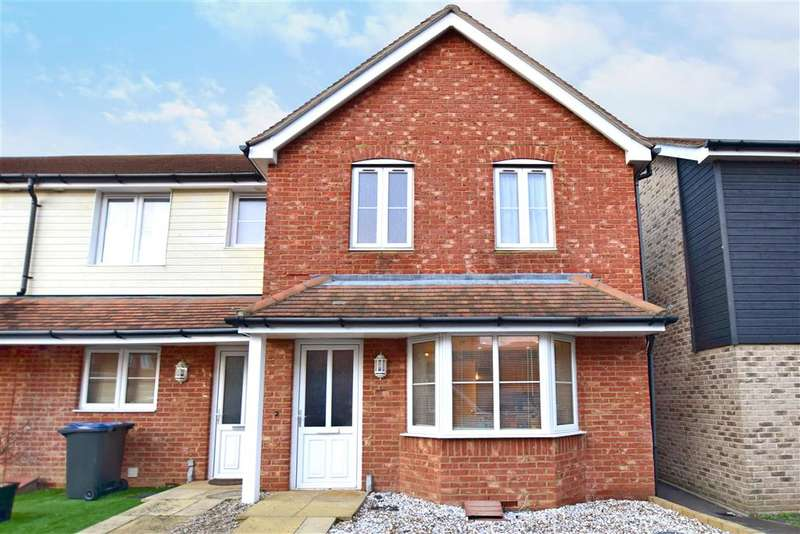 3 Bedrooms End Of Terrace House for sale in Neville Road, , Herne Bay, Kent