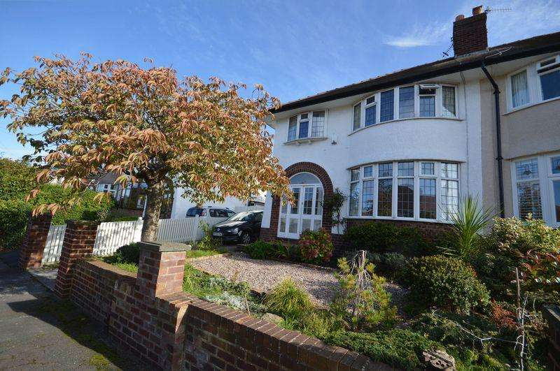 3 Bedrooms Semi Detached House for sale in Heatherdene , West Kirby