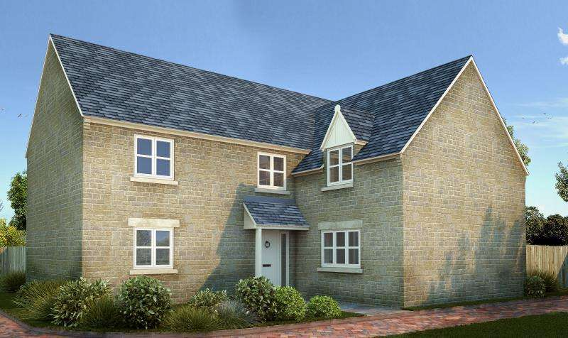 4 Bedrooms Detached House for sale in Plot 13, Bow Farm, Bow Road, Stanford in the Vale, Faringdon
