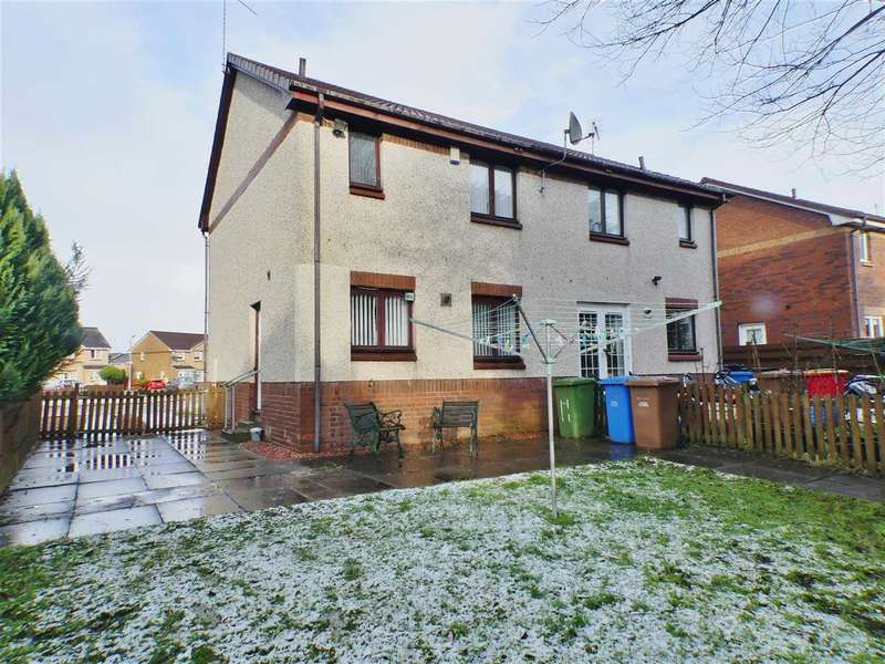3 Bedrooms Semi Detached House for sale in Forties Gardens, Thornliebank, Regent Park, GLASGOW
