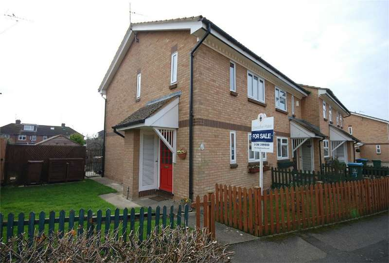 2 Bedrooms End Of Terrace House for sale in Parker Walk, Aylesbury, Buckinghamshire