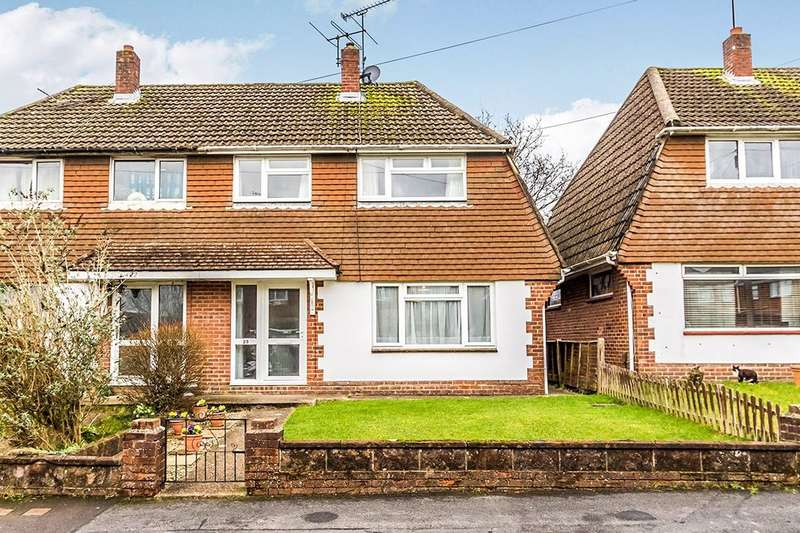 3 Bedrooms Semi Detached House for sale in Milbeck Close, Waterlooville, PO8