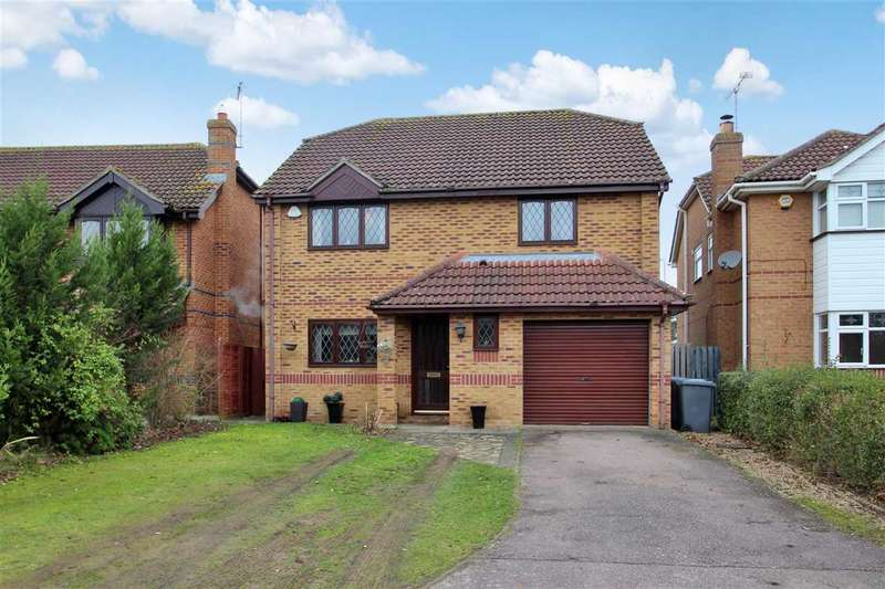 4 Bedrooms Detached House for sale in Sewell Wontner Close, Grange Farm, Kesgrave, Ipswich