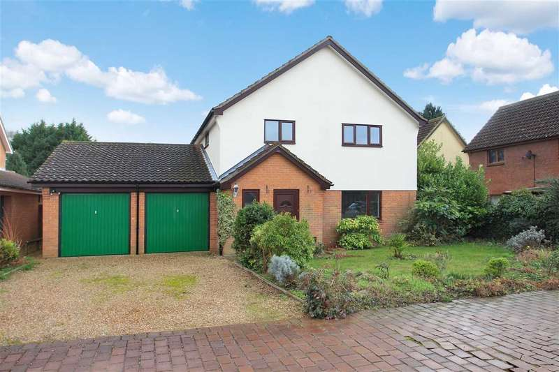 4 Bedrooms Detached House for sale in Broomfield Mews, Martlesham Heath, Ipswich