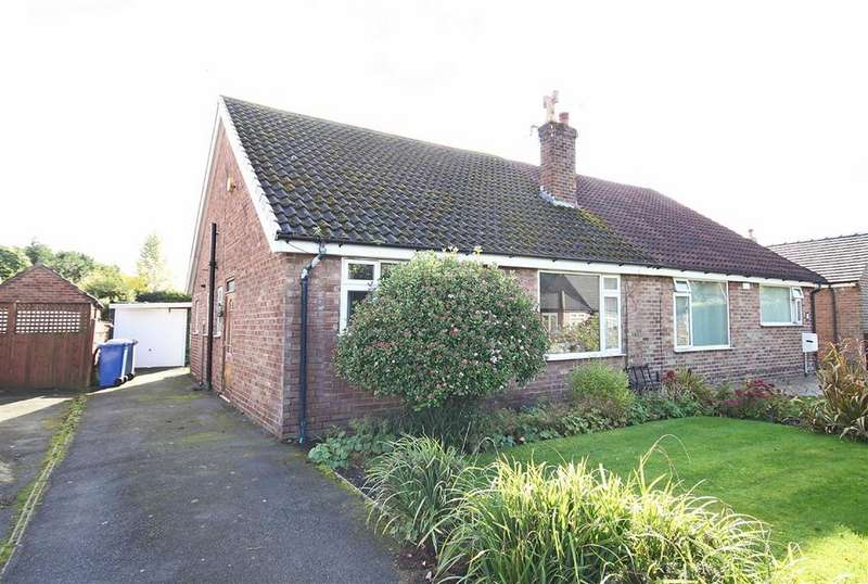 2 Bedrooms Semi Detached Bungalow for sale in Thorndale Grove, Timperley, Cheshire