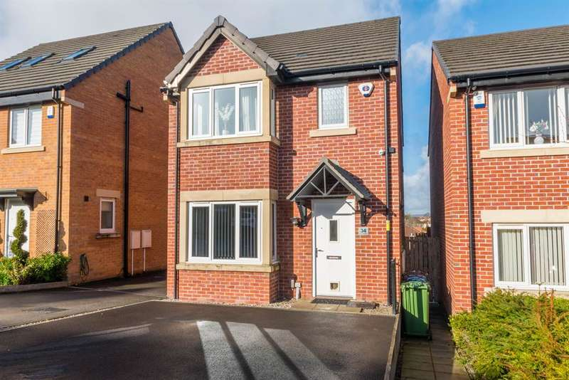 3 Bedrooms Detached House for sale in Round Hill Road , Pudsey, Leeds, LS28