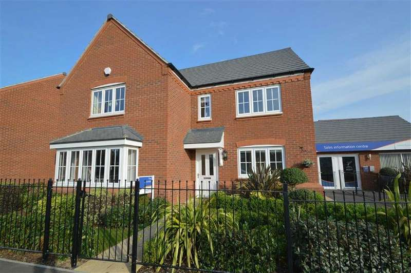 5 Bedrooms Detached House for sale in Squinter Pip Way, Bowbrook Meadow, Shrewsbury