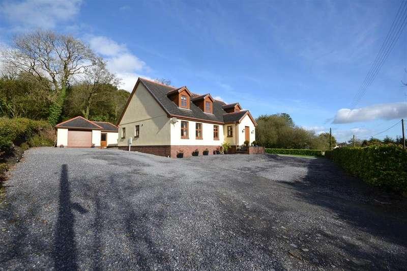 4 Bedrooms Detached Bungalow for sale in Mynyddcerrig, Llanelli