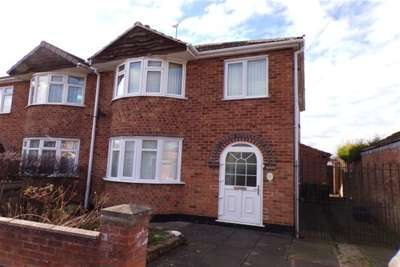 4 Bedrooms Semi Detached House for rent in Bradgate Drive, Wigston, LE18 1HB