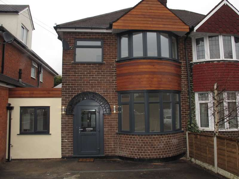 3 Bedrooms Semi Detached House for sale in Melton Avenue, Solihull