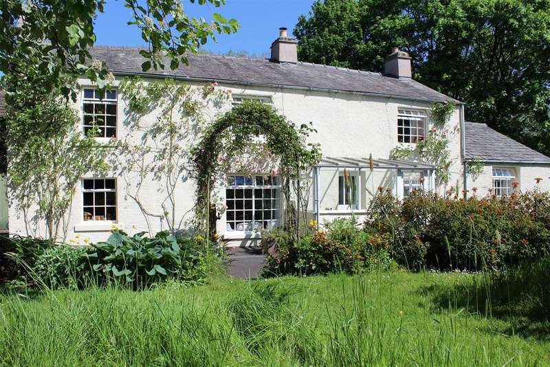 4 Bedrooms Detached House for sale in Langber End Farm, Ingleton, North Yorkshire