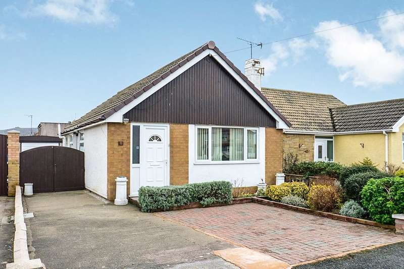 2 Bedrooms Detached Bungalow for sale in Towyn Road, Abergele, LL22