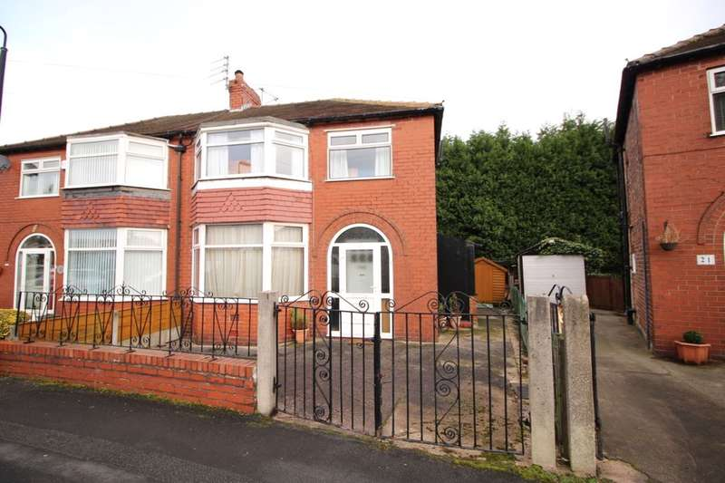 3 Bedrooms Semi Detached House for sale in Downs Drive, Timperley, Altrincham, WA14