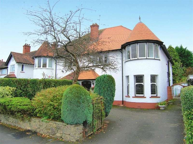 5 Bedrooms Semi Detached House for sale in Heath Park Avenue, Heath, Cardiff