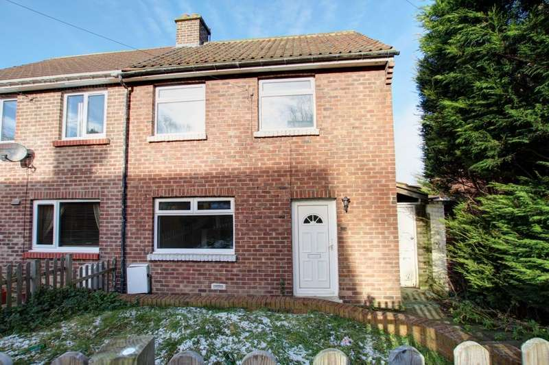 2 Bedrooms Semi Detached House for sale in East Clere, Langley Park, Durham, DH7