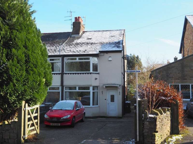 2 Bedrooms Semi Detached House for sale in Yeardsley Lane, Furness Vale, High Peak, Derbyshire, SK23 7PN