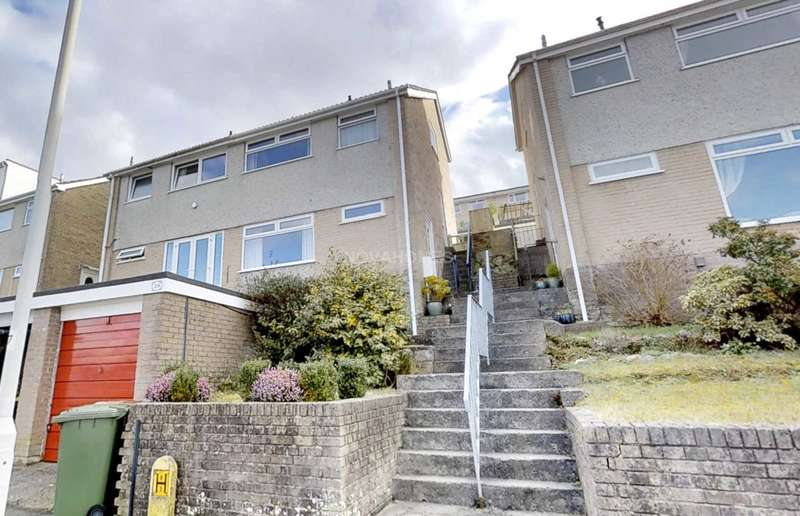 3 Bedrooms Semi Detached House for sale in Holly Park Drive, Plymouth, PL5 4JU