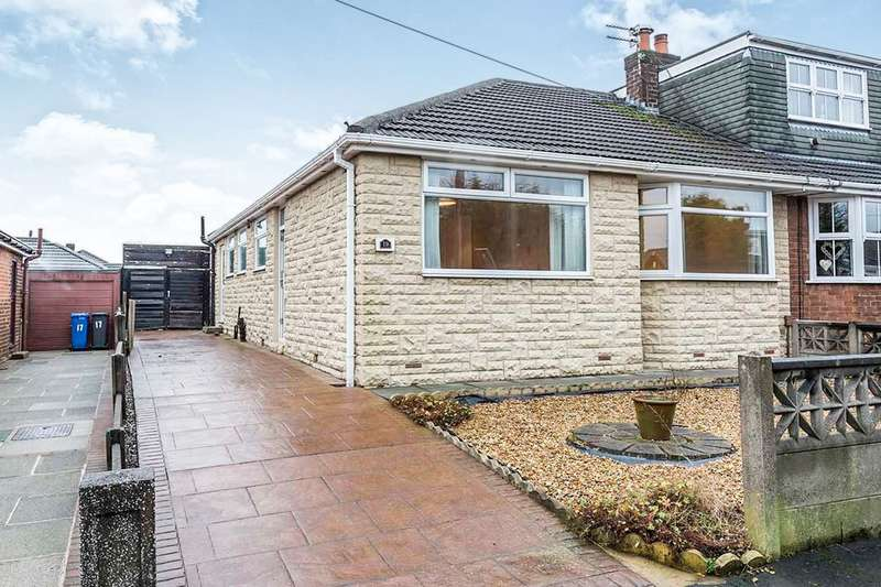 3 Bedrooms Semi Detached Bungalow for sale in Sunnyside Road, Ashton-In-Makerfield, Wigan, WN4