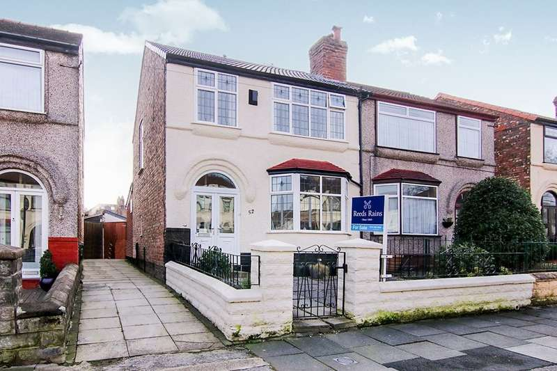 3 Bedrooms Semi Detached House for sale in Alvanley Road, West Derby, Liverpool, L12