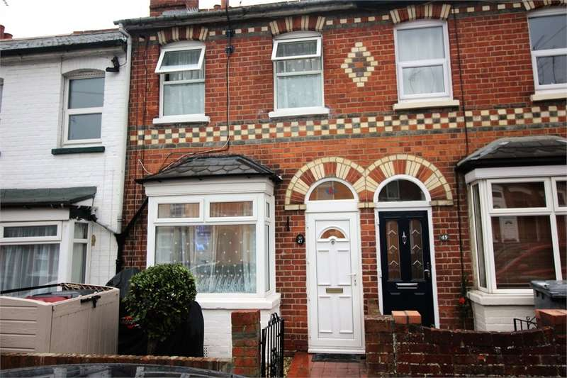 2 Bedrooms Terraced House for sale in Shaftesbury Road, READING, Berkshire
