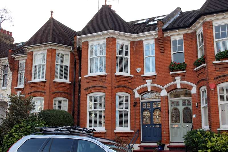 5 Bedrooms Terraced House for sale in Thirlmere Road, Muswell Hill, London