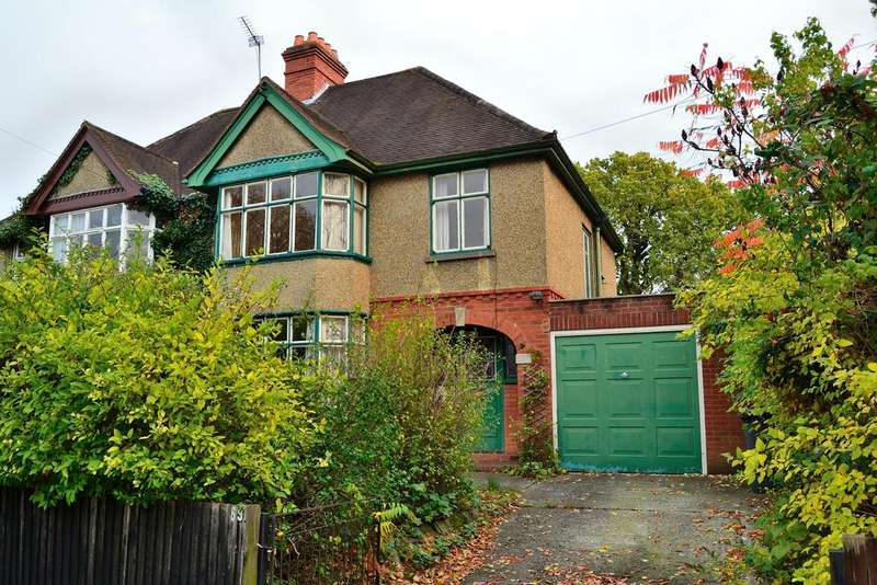3 Bedrooms Semi Detached House for sale in Northcourt Avenue, Reading, Berkshire, RG2 7HF