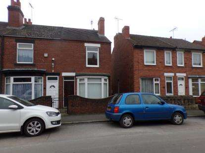 2 Bedrooms End Of Terrace House for sale in Yorke Street, Mansfield Woodhouse, Mansfield, Nottinghamshire