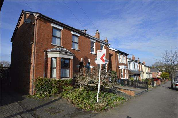 3 Bedrooms Semi Detached House for sale in Copt Elm Road, Charlton Kings, CHELTENHAM, Gloucestershire, GL53