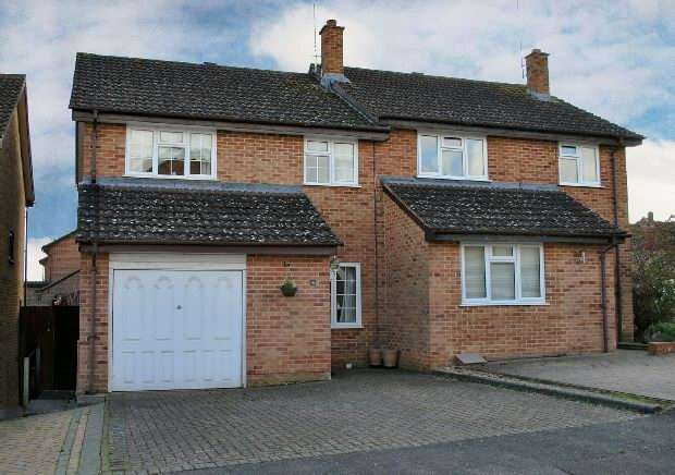 3 Bedrooms Semi Detached House for sale in Five Acre, Tilehurst, Reading,