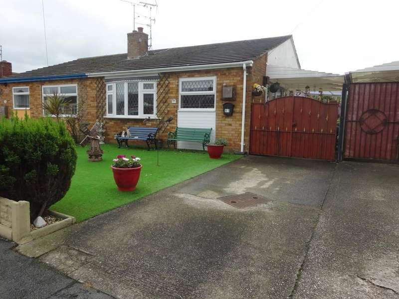 2 Bedrooms Semi Detached Bungalow for sale in Llys Charles, Abergele